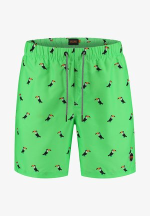 TUCAN - Swimming shorts - neon green