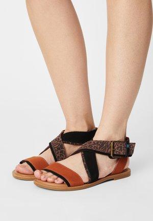 SIDNEY - Sandals - brown