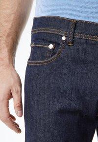 Pierre Cardin - FLEX - Straight leg jeans - dark-blue denim - 3