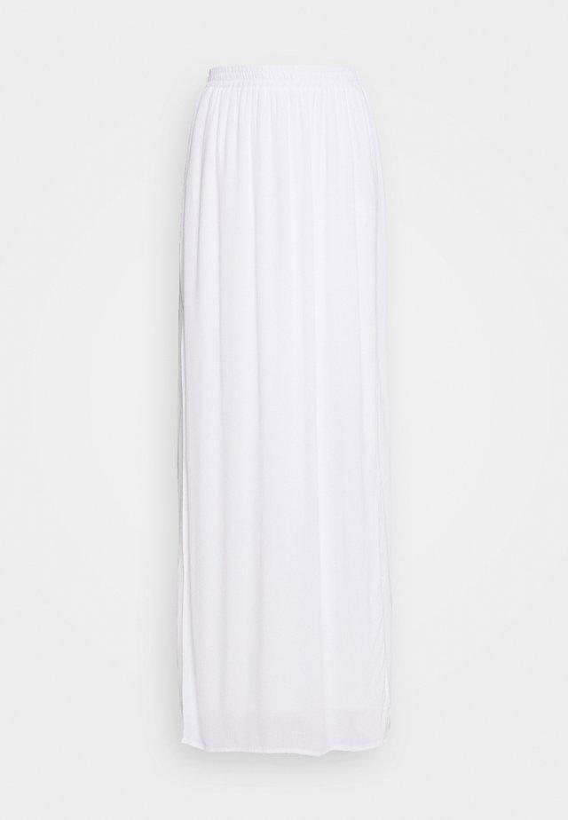 SKIRT - Maxi skirt - white