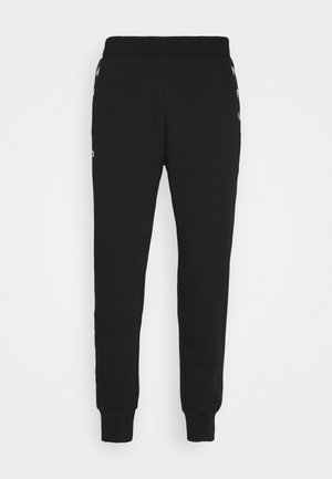 PANT TAPERED - Pantaloni sportivi - black/navy blue