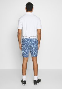 Under Armour - LINKS PRINTED SHORT - Pantaloncini sportivi - blue frost/mod gray/blue ink - 2