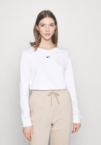 Nike Sportswear - TEE - Topper langermet - white - 0