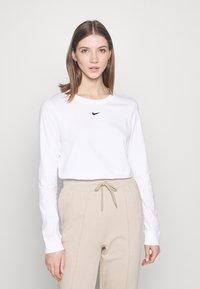 Nike Sportswear - TEE - Long sleeved top - white - 0