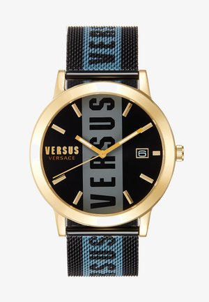BARBES - Watch - black/gold-coloured