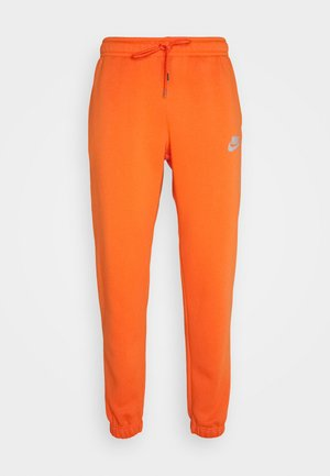 PANT - Tracksuit bottoms - electro orange/(reflective)