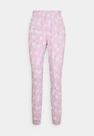 FLOWER PANTS - Pyjama bottoms - pink