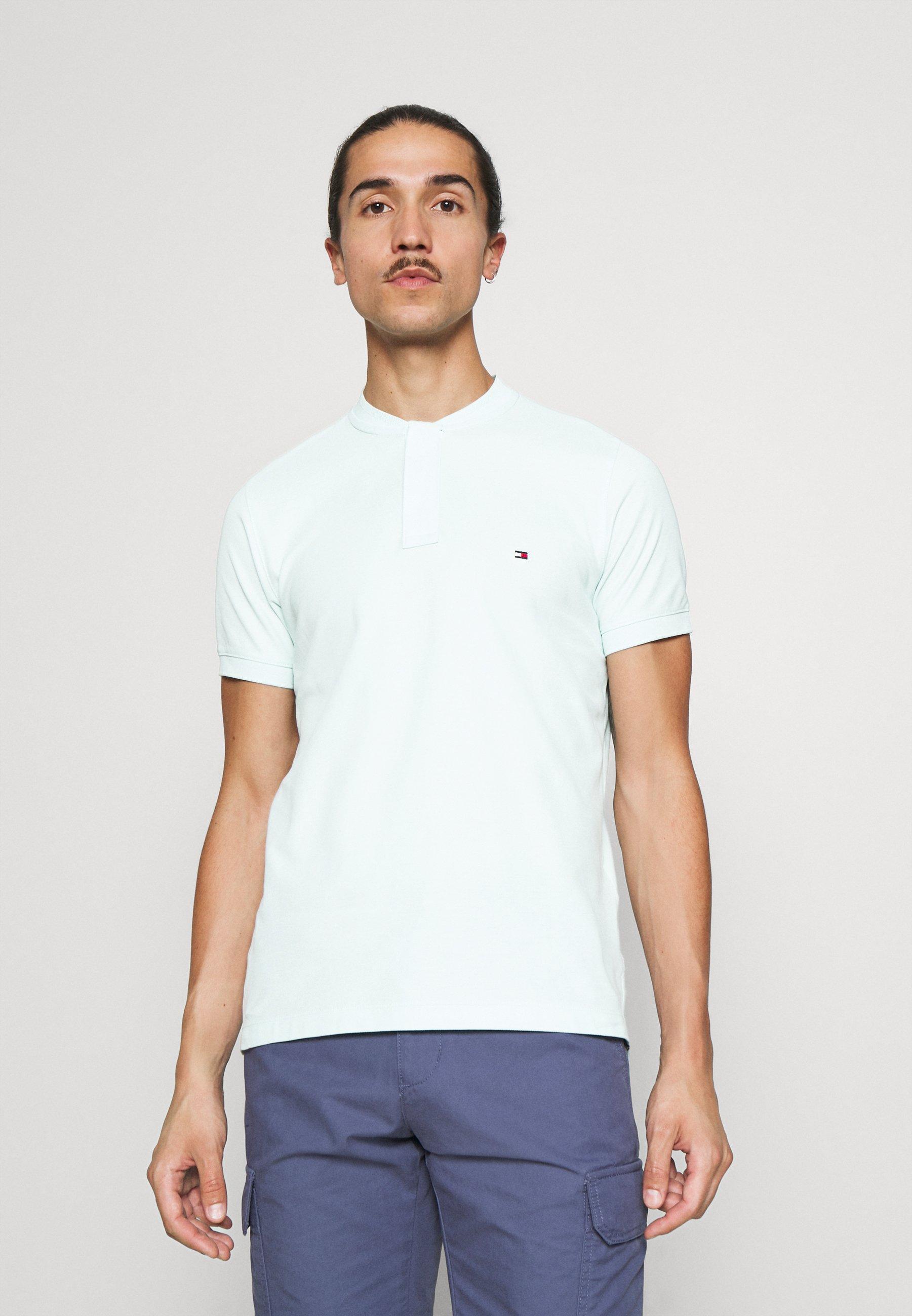 Men BASEBALL COLLAR SLIM - Basic T-shirt