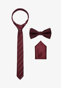 Jack & Jones - JACNECKTIE GIFT BOX - Kapesník do obleku - port royale - 0