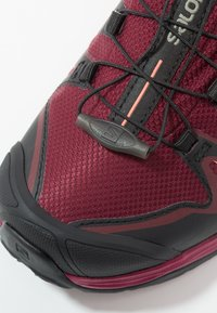 Salomon - X ULTRA 3 GTX  - Hiking shoes - tawny port/black/living coral - 5