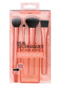 Real Techniques - FLAWLESS BASE SET - Pinceau maquillage - -