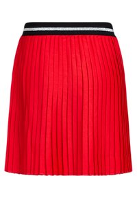 WE Fashion - MET GLITTERDETAILS - A-line skirt - bright red - 3