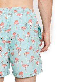 Jack & Jones - JJIARUBA JJSWIMSHORTS  - Shorts da mare - brook green - 2