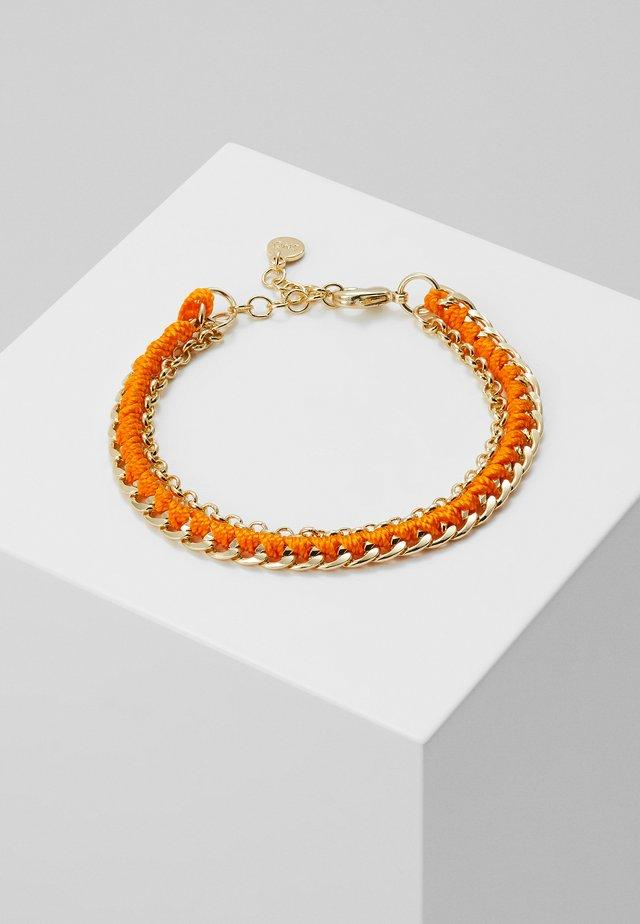 TRAIL BRACE - Armband - gold-coloured/orange