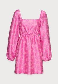 Samsøe Samsøe - SASHA DRESS - Sukienka koktajlowa - bubble gum pink - 4