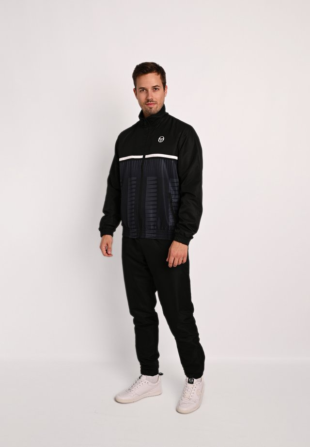 BARON - Tracksuit - black/grey