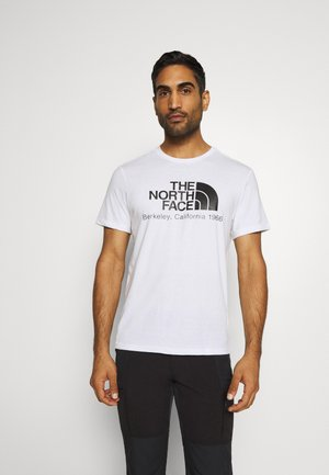 BEREKELY CALIFORNIA TEE - T-shirt z nadrukiem - white