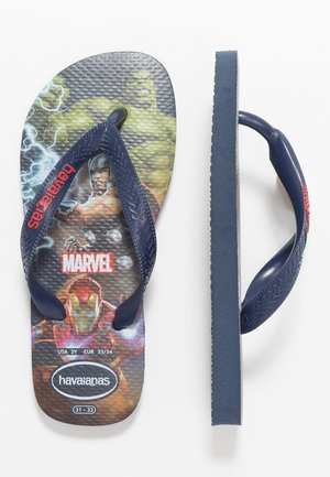TOP MARVEL - Pool shoes - navy blue