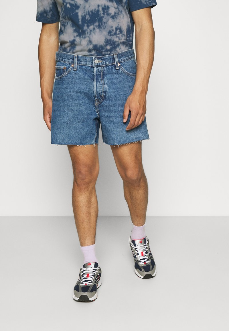 Weekday - DRAUGHT - Shorts di jeans - harper blue