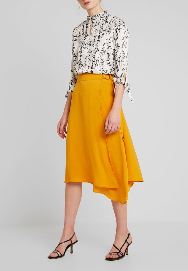 SADIE SKIRT - Gonna a campana - golden glow