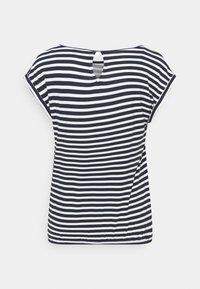 TOM TAILOR - Print T-shirt - navy - 1