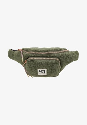 RØTHE FANNY PACK - Across body bag - olive