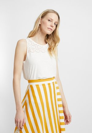 FABRIC MIX - Top - off white