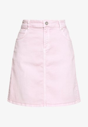 Denim skirt - bleached berry