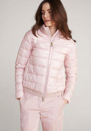 OLEAH - Winter jacket - rosé-weiß