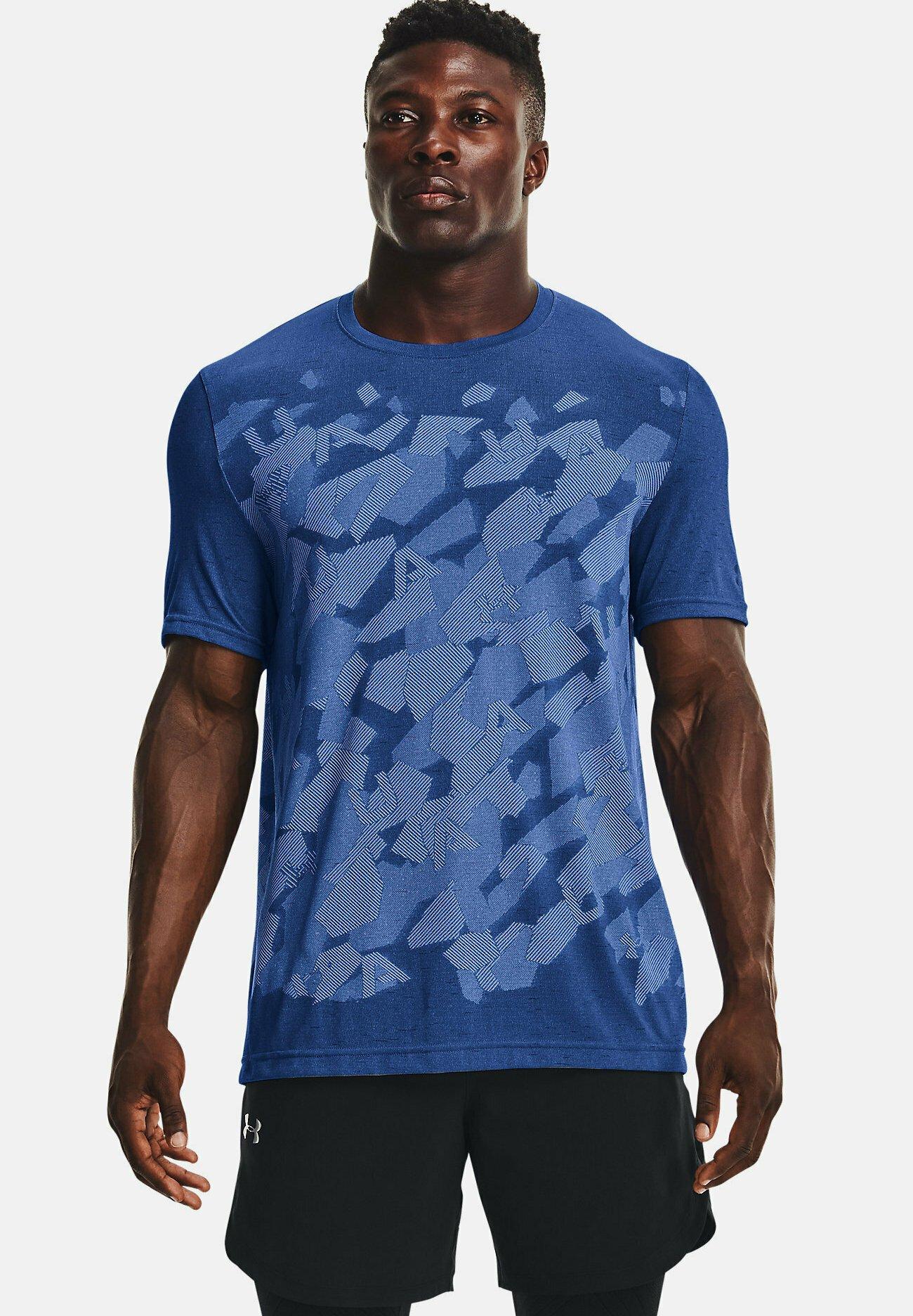 Men UA SEAMLESS WORDMARK SS - Print T-shirt