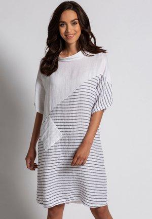 Korte jurk - kohlegrau