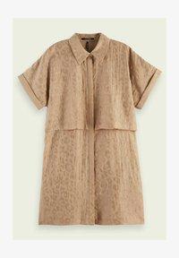 Scotch & Soda - Shirt dress - oat - 4