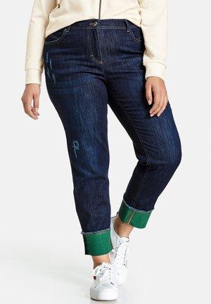 Slim fit jeans - raw blue denim