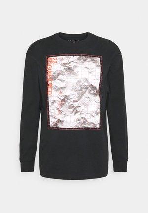 LONG SLEEVE CREW - Maglietta a manica lunga - black