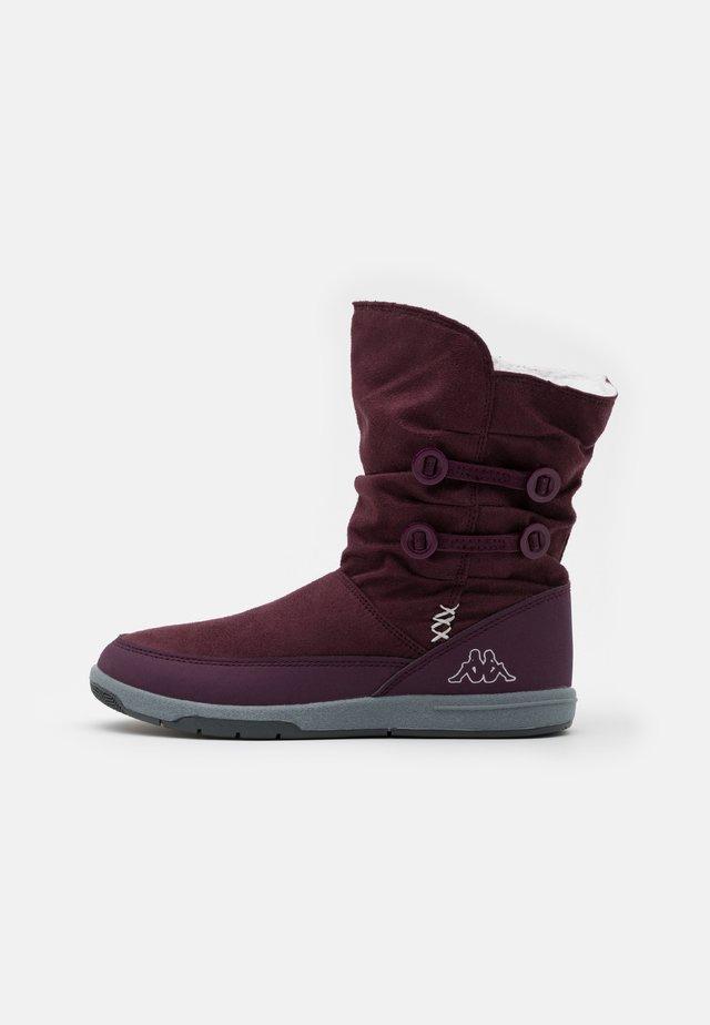 CREAM - Zimní obuv - purple/silver