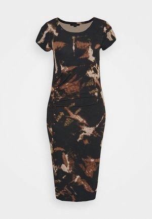 HATTI TYDY DRESS - Žerzejové šaty - black