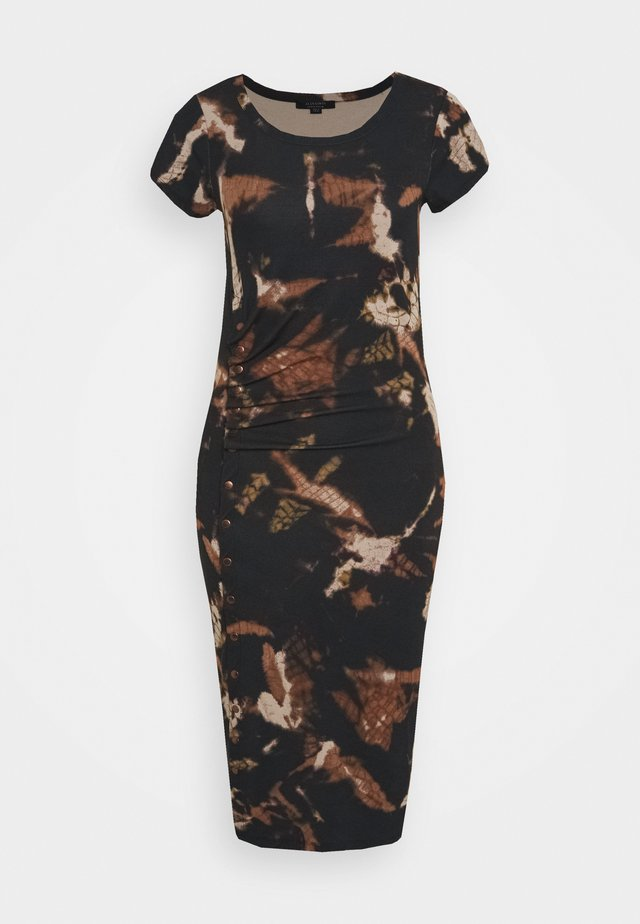 HATTI TYDY DRESS - Jersey dress - black