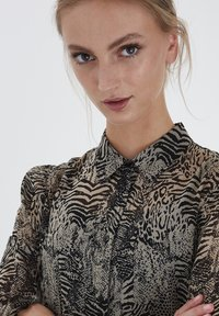 ICHI - IHASSIP DR - Shirt dress - oxford tan - 3