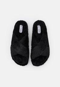 Steve Madden - FUZED - Domácí obuv - black - 5