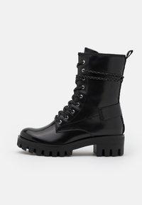 Tamaris - BOOTS - Šněrovací kotníkové boty - black - 1