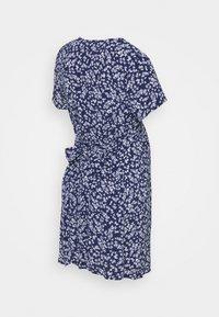Cotton On - SHORT SLEEVE BUTTON FRONT DRESS - Jersey dress - medieval blue - 1