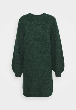 OBJEVE NONSIA DRESS SEASON - Jumper dress - scarab/melange