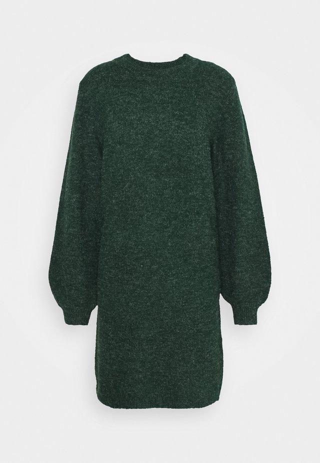 OBJEVE NONSIA DRESS SEASON - Jumper dress - scarab/melange