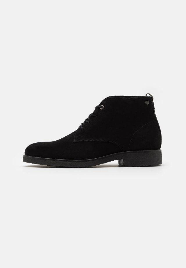 TONY - Lace-up ankle boots - black