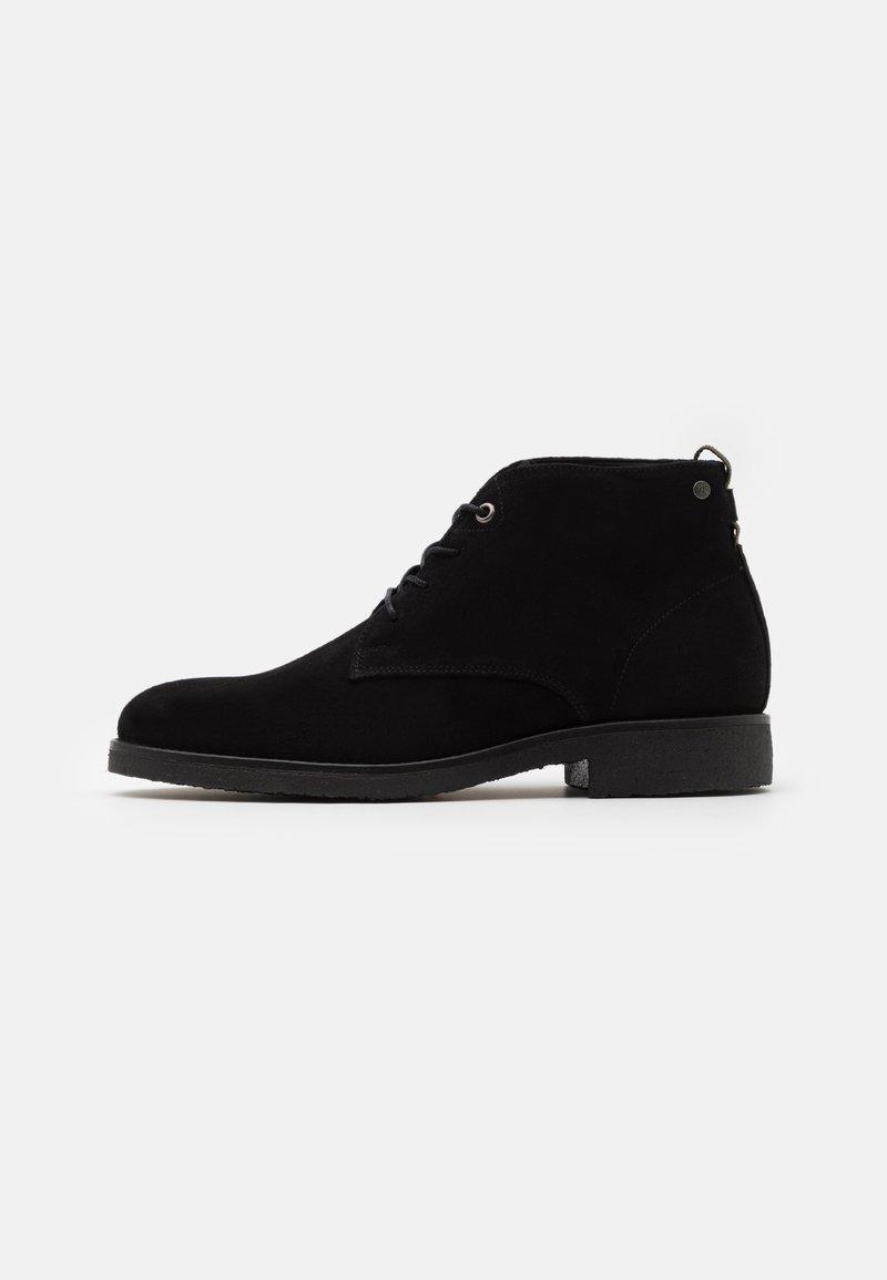 Sneaky Steve - TONY - Šněrovací kotníkové boty - black