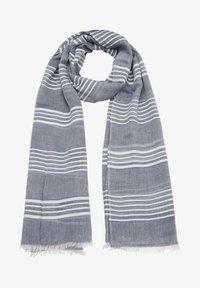 s.Oliver - Scarf - dark blue stripes - 2