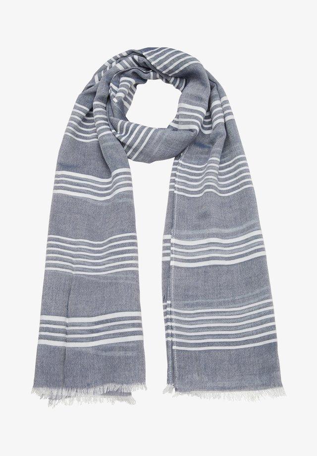 Écharpe - dark blue stripes