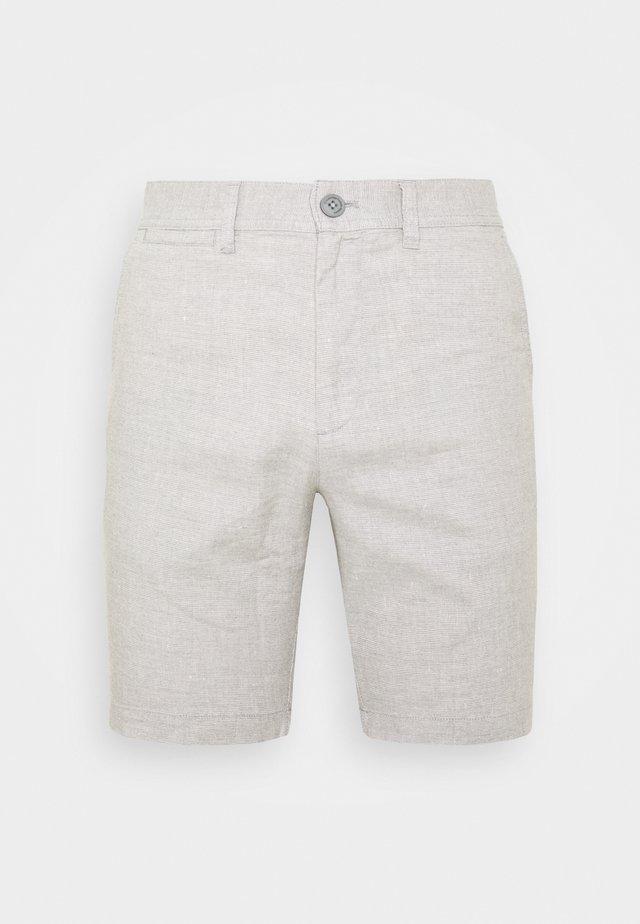 CHUCK REGULAR - Shorts - mottled grey