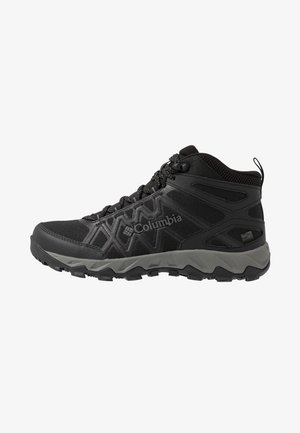 PEAKFREAK X2 MID OUTDRY - Hiking shoes - black/titanium