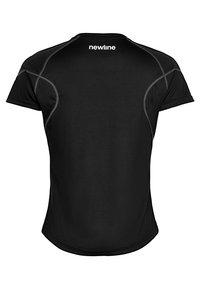 Newline - CORE COOLSKIN TEE - Sports shirt - black - 1